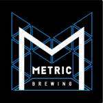 metric brewing geometric logo